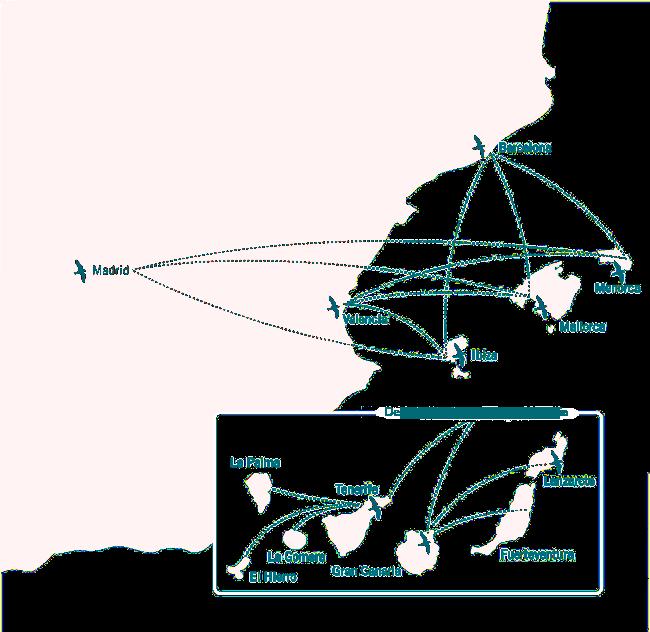 Mapa Guillén Transporte Marítimo